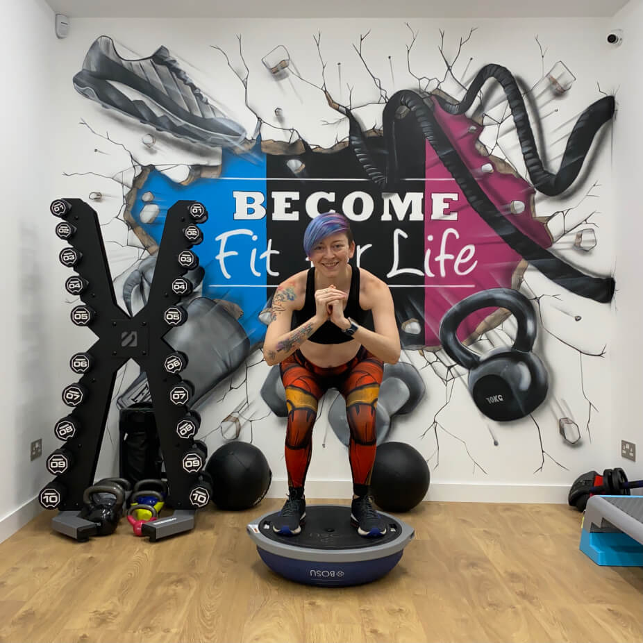 Female personal trainer london sidcup